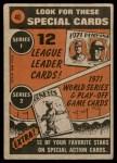 1972 Topps #40   -  Bob Barton In Action Back Thumbnail