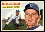 1956 Topps #58  Ed Roebuck  Front Thumbnail