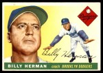 1955 Topps #19  Billy Herman  Front Thumbnail