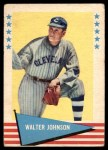 1961 Fleer #49  Walter Johnson  Front Thumbnail