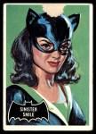 1966 Topps Batman Black Bat #27 BLK  Sinister Smile Front Thumbnail