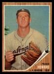1962 Topps #175 GRN Frank Howard  Front Thumbnail