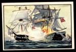 1954 Bowman U.S. Navy Victories #44   Naval Battle on Lake Champlain Front Thumbnail
