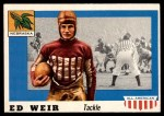 1955 Topps #3  Ed Weir  Front Thumbnail
