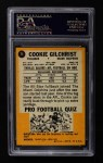 1967 Topps #74  Cookie Gilchrist  Back Thumbnail