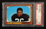 1966 Topps #107  Clem Daniels  Front Thumbnail