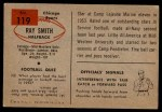 1954 Bowman #119  Ray Smith  Back Thumbnail