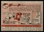 1958 Topps #306  Whammy Douglas  Back Thumbnail