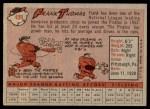 1958 Topps #409  Frank Thomas  Back Thumbnail