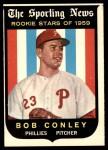 1959 Topps #121  Bob Conley  Front Thumbnail