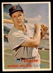 1957 Topps #288  Ted Lepcio  Front Thumbnail