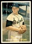 1957 Topps #141  Al Aber  Front Thumbnail