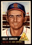 1953 Topps #21  Billy Johnson  Front Thumbnail