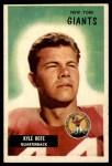 1955 Bowman #137  Kyle Rote  Front Thumbnail