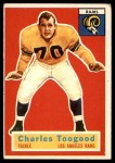1956 Topps #54  Charley Toogood  Front Thumbnail