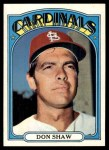 1972 Topps #479  Don Shaw  Front Thumbnail