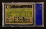 1961 Topps #553  Bill Fischer  Back Thumbnail