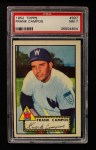 1952 Topps #307 xSTR Frank Campos  Front Thumbnail