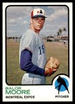 1973 Topps #211  Balor Moore  Front Thumbnail