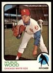 1973 Topps #150  Wilbur Wood  Front Thumbnail