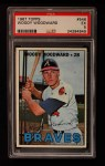 1967 Topps #546  Woody Woodward  Front Thumbnail