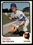 1973 Topps #493  Duffy Dyer  Front Thumbnail