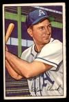 1952 Bowman #130  Allie Clark  Front Thumbnail