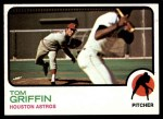1973 Topps #468  Tom Griffin  Front Thumbnail