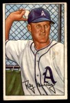 1952 Bowman #118  Ray Murray  Front Thumbnail