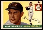 1955 Topps #190  Gene Woodling  Front Thumbnail