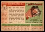 1955 Topps #131  Grady Hatton  Back Thumbnail
