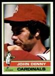 1976 Topps #339  John Denny  Front Thumbnail