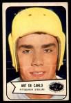 1954 Bowman #71  Arthur DeCarlo  Front Thumbnail