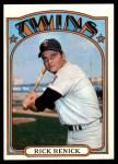 1972 Topps #459  Rick Renick  Front Thumbnail