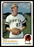 1973 Topps #657  Bob Johnson  Front Thumbnail