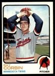 1973 Topps #411  Ray Corbin  Front Thumbnail