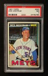 1967 Topps #593  Wes Westrum  Front Thumbnail