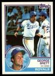 1983 Topps #600  George Brett  Front Thumbnail