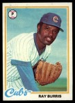 1978 Topps #371  Ray Burris  Front Thumbnail