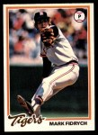 1978 Topps #45  Mark Fidrych  Front Thumbnail
