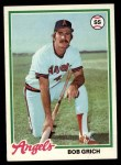 1978 Topps #18  Bobby Grich  Front Thumbnail