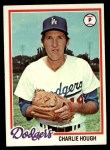 1978 Topps #22  Charlie Hough  Front Thumbnail