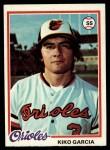 1978 Topps #287  Kiko Garcia  Front Thumbnail