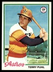 1978 Topps #553  Terry Puhl  Front Thumbnail