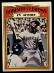 1972 Topps #310   -  Roberto Clemente In Action Front Thumbnail