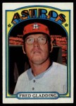 1972 Topps #507  Fred Gladding  Front Thumbnail