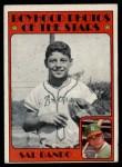1972 Topps #348   -  Sal Bando Boyhood Photo Front Thumbnail