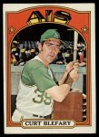 1972 Topps #691  Curt Blefary  Front Thumbnail