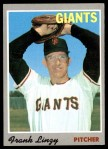 1970 Topps #77  Frank Linzy  Front Thumbnail