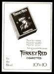 T3 Turkey Red Reprint #108  Fred Merkle  Back Thumbnail